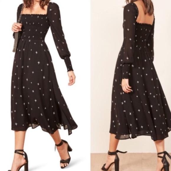 Reformation Dresses & Skirts - Reformation Rowan Midi dress in Small